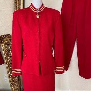 St John Collection Suit Set Santana Knit